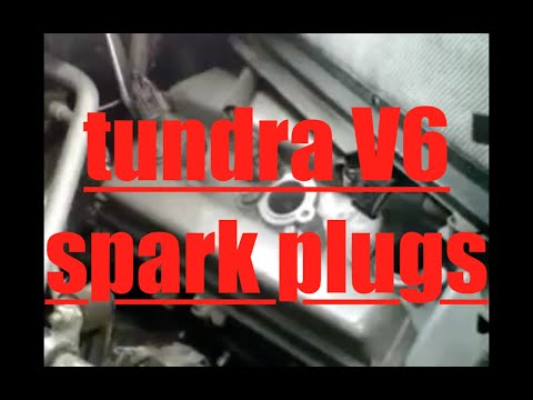 When To Replace Spark Plugs >> DIY How to install replace spark plugs Toyota Tundra1GR-FE ...