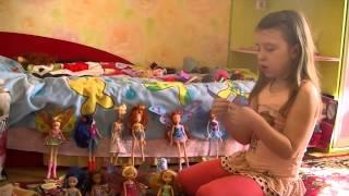 Все мои куклы Винкс(Это мое первое видео, в котором я рассказываю о своей коллекции Винкс., 2014-03-27T16:50:45.000Z)