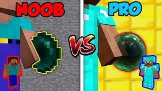 Minecraft NOOB vs. PRO: ENDER PEARL in Minecraft!