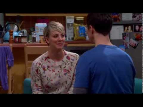 TBBT - Emotional scene with Penny and Sheldon