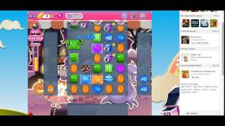 Candy Crush Saga Level 725