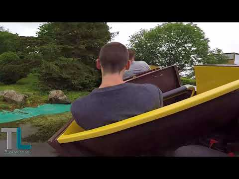 Drakkar Express [Coaster] (Jour) Parc de Festyland 2018 | On ride POV