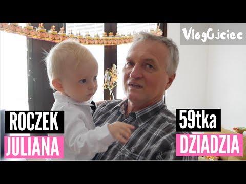 URODZINY JULIANA I JANA - Pierwszy Roczek Juliana I 59tka Dziadzia Jana VLOG
