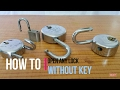 How To Open A Lock Without Key mp3