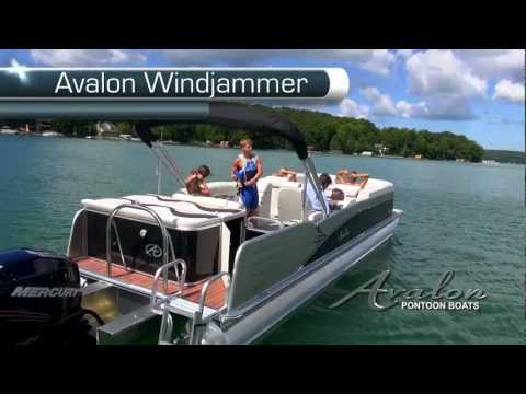2013 Pontoon Boats - Avalon Windjammer Pontoon Boat- C Series