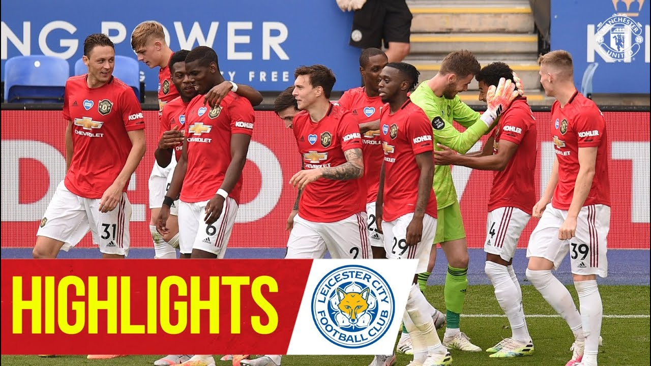 Highlights | Strikes from Fernandes & Lingard seal Reds win | Leicester City 0-2 Manchester Unit