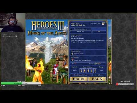 Heroes 3 HotA: Mirror - ABH Woj vs ABH Mag+Kapitol na h3dm1