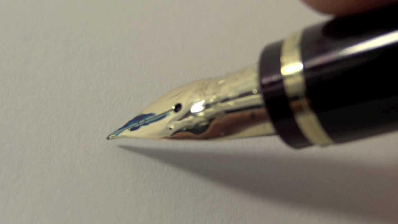 fountain pen writing paper