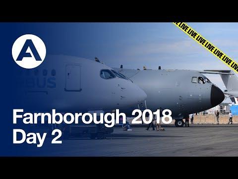 LIVE: Farnborough 2018 - Day 2