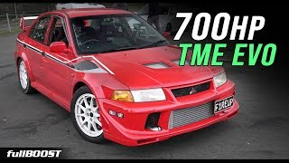 700hp TME EVO ROCKET! | fullBOOST