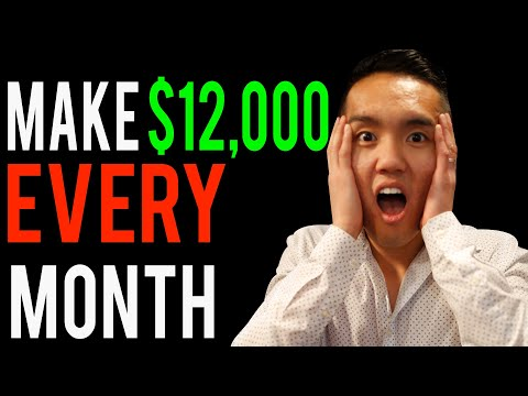 How to make $12,000 every Month from Real Estate Investing!