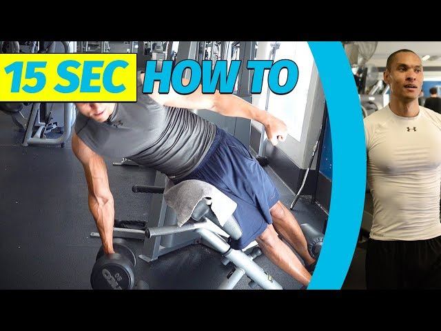 45 Degree (Abs) Side Raise  | My Exercises in 15s!