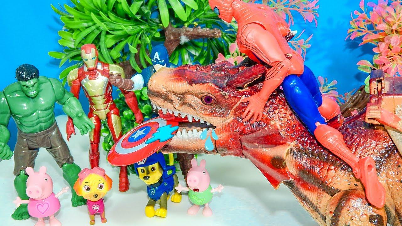 Peppa Pig Encontrou um Super Dragão Perto de Casa!! Completo em Português