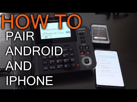 How To Connect Panasonic Link To Cell To Android And IPhone