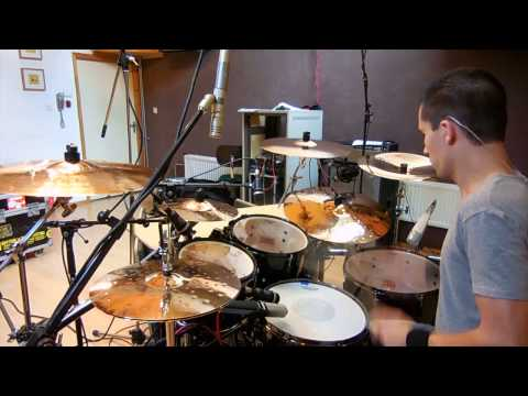 Patrick Sacre - The Amity Affliction - Flowerbomb Drum Video