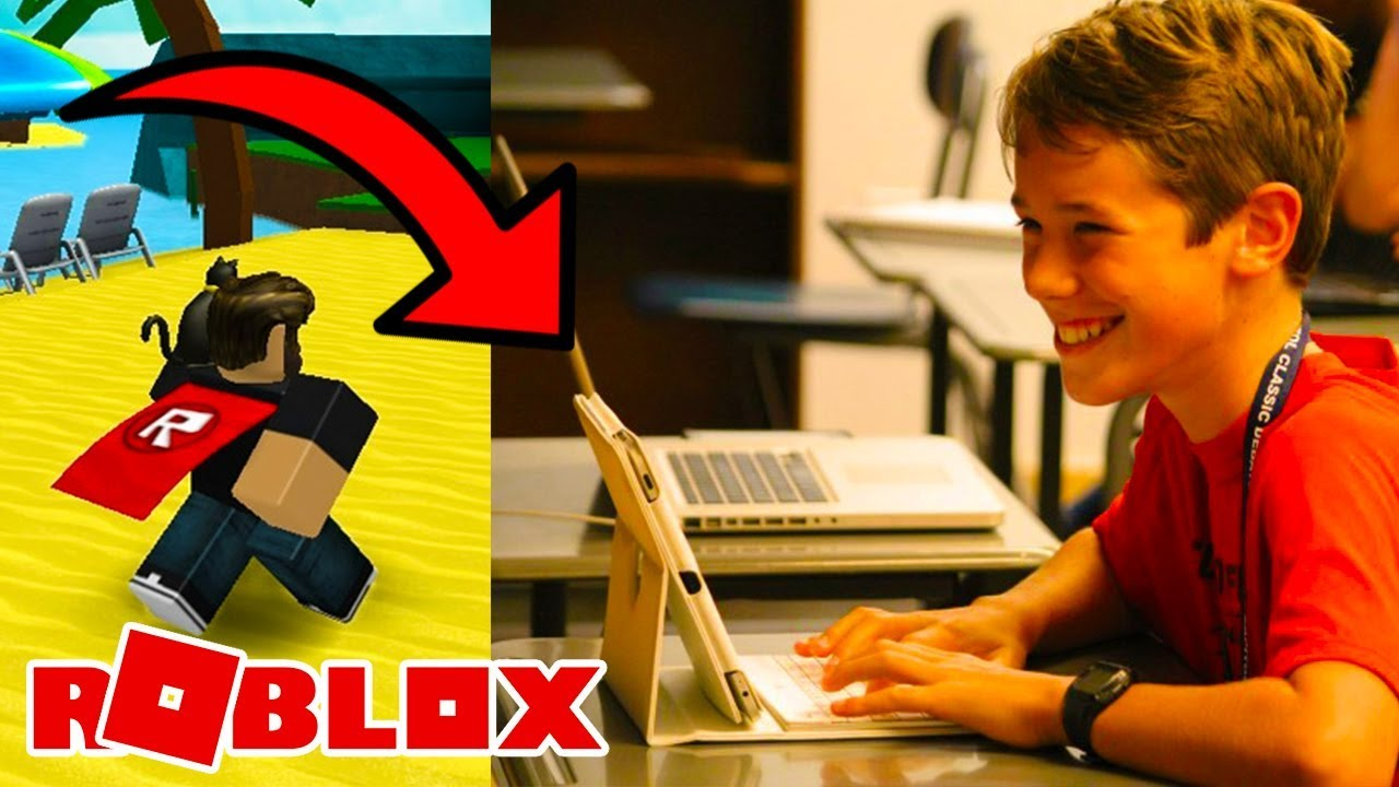 Kid gets caught playing roblox in class, he regrets it badly...