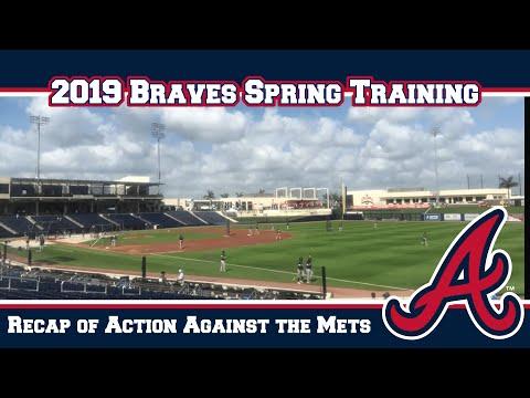 Braves Spring Training Daily Rundown 2-24-2019