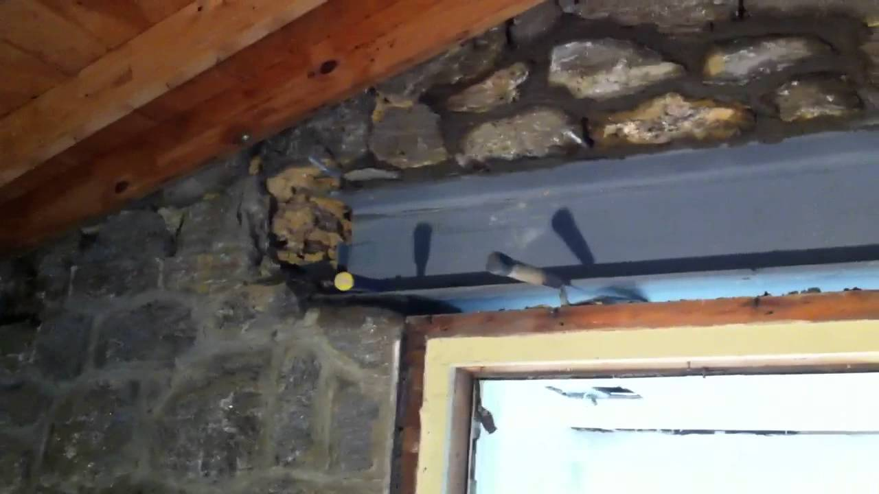 Installation Of Steel I Beam Youtube