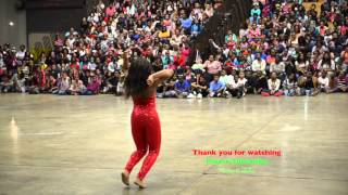 Camryn from Dancing Dolls  DD4L performs in Greenville Mississippi