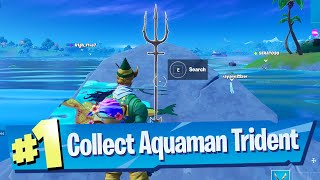 Claim your Trident at Coral Cove (Aquaman Week 5 Challenge) Location - Fortnite Battle Royale