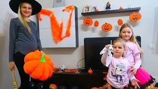 Surpriza MARE in DULAP | Decoram Camera de Halloween DIY! Dovlecei si Muuulte Baloane! Room Decor