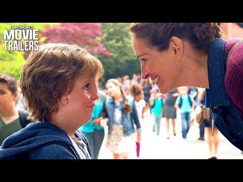 WONDER Trailer | Julia Roberts, Owen Wilson & Jacob Tremblay drama movie