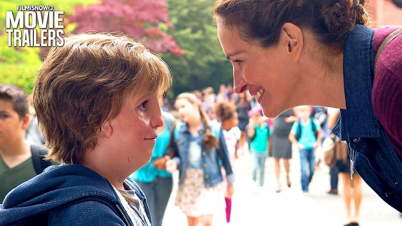 Download WONDER Trailer   Julia Roberts, Owen Wilson & Jacob Tremblay drama movie