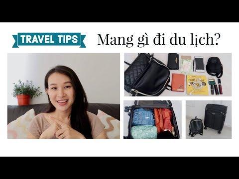 Chuẩn Bị đồ đi Du Lịch Thái Lan 👜Packing My Carry On || TRAVEL TIPS  ✈️VY HUYNH