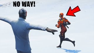 How to become INVISIBLE in Fortnite Season 7... 😂