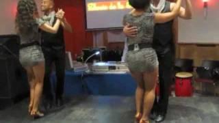 Видео: Bachata Show in Budapest 2011