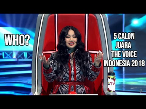 Top 5 Best Blind Auditions | THE VOICE INDONESIA 2018 | Versi Music Update