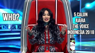 Top 5 Best Blind Auditions THE VOICE INDONESIA 2018 Versi Music Update