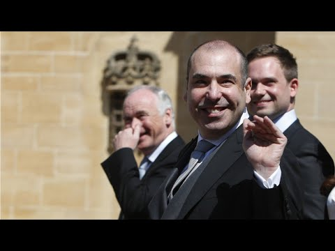 Rick Hoffman Explains His Disgusted Face At Royal Wedding On Instagram