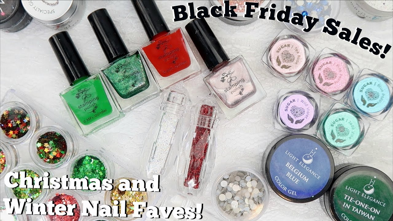 Winter and Christmas Nail Art Favourites!   Black Friday Sales ...