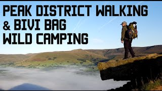 Peak District Walk & Bivi Bag Wild Camping.