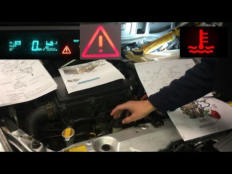 Red Triangle Of Death High Temp Light Coolant Overflowing To
