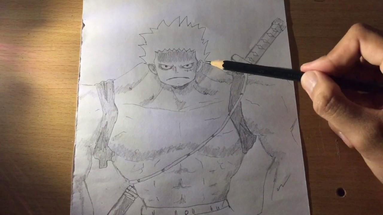 Drawing Monkey D Luffy Nightmare Body Youtube