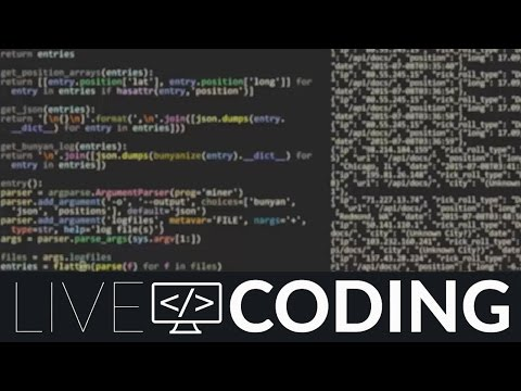 Watch The Python Hacking (Livecoding.TV)