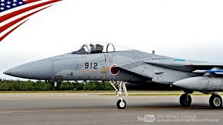 空自F-15, 米軍F-16, F-18, A-10他のタキシング&離陸 - レッドフラッグ・アラスカ2018