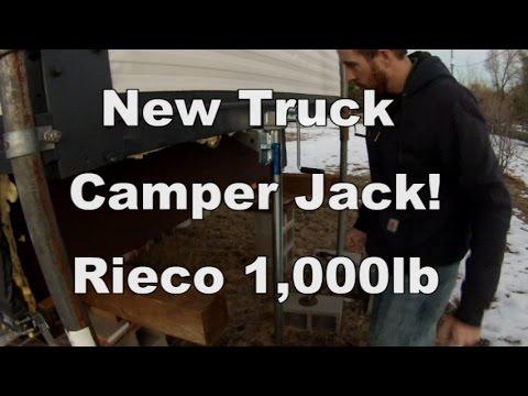New Truck Camper Jack - Rieco Titan 1,000lb Tripod Jack