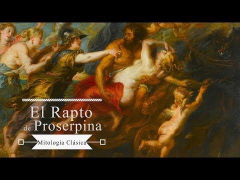 Mitos: Perséfone/Proserpina y Plutón/Hades