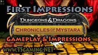 Dungeons & Dragons Chronicles of Mystara - PC Gameplay and Impressions