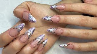 Ноктопластика Стилет (Stiletto Nails) - Стъпка по Стъпка