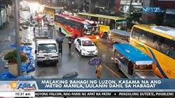 Malaking bahagi ng Luzon, kasama na ang Metro Manila, uulanin dahil sa habagat