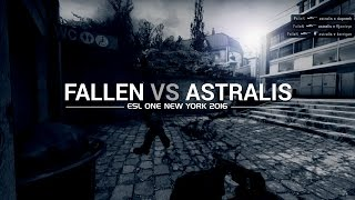 In the crosshairs: FalleN vs Astralis at ESL One New York