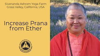 Increase Prana from Ether