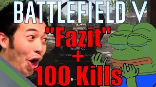 Fazit zu Battlefield V + 100 Kill BF5 Gameplay | Medic MP40