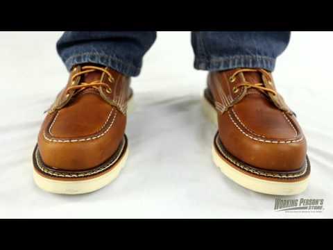 7b83941b867 Thorogood Boots: Men's 814-4200 American Heritage Wedge Moc Toe ...