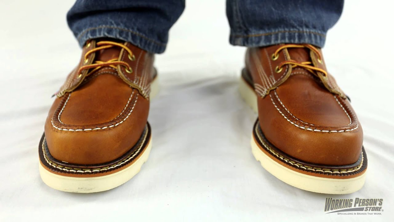 d5aa082d6bf Thorogood Boots  Men s 814-4200 American Heritage Wedge Moc Toe Boots.  Working Person