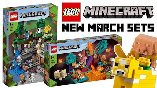 LEGO Minecraft March 2021 Sets OFFICIALLY Revealed